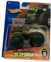 NIP TMNT Turtles Hot Wheels Monster Jam Diecast Truck 1/64 Rare HTF #32 - $44.54