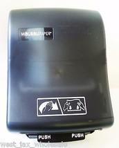 Wausau Optiserv AD108-02 Paper Roll Towel Dispenser Dual-Function Black X 2 - $46.71
