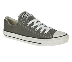 Converse Chuck Taylor All Star Low Top Shoes 1J794 Charcoal Gray/White Mens - $49.95