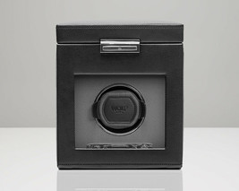 WOLF Viceroy 2.7 Single Watch Winder with Cover and Storage Box - $399.00