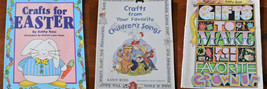3 Books Crafts for Kids by Kathy Ross Songs Gifts Easter Home School - $14.74