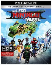 Lego Ninjago Movie [4K Ultra HD + Blu-ray, 2018)