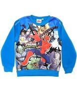 Marvel Ultimate Spider-Man Sinister 6 Boy's Fleece Sweatshirt (Size: 6A) - $14.25