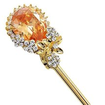 Classical Hair Stick Ladies/Girls Hair Stick Dish Hair Headwear(Champagne)