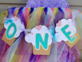 Girly Highchair Banner With Cupcakes, Cupcake Themed Banner, Cute Cupcak... - $12.00