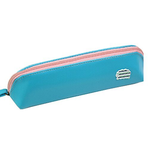 Primary image for Simple Students Pen Bag Pencil Case Stationery Pen Boxes Pencil Pouch, E