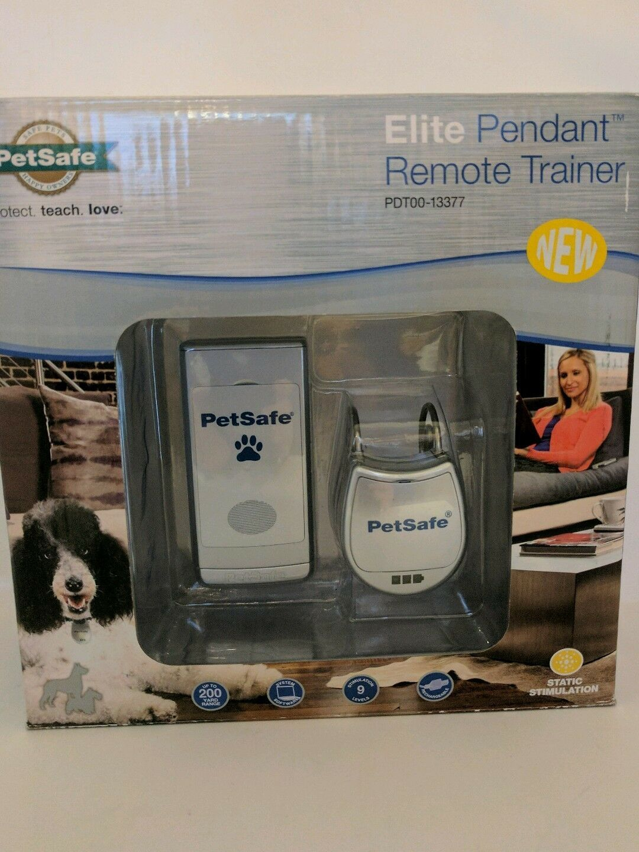 PetSafe Elite Pendant Remote Trainer PDT00-13377 New All Dog breeds sizes - $48.38