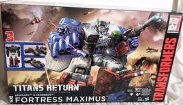 Transformers Generations Titans Return Fortress Maximus Titan Class Figure New - $252.45