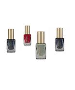 L'Oreal Paris Set of 4 Assorted Colors Nail  Polish Red Green Blue - $13.99