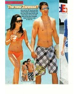 Zac Efron teen magazine pinup clipping shirtless on the beach Popstar Bop - $1.50
