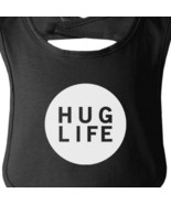 Hug Life Black Baby Bib Infant Bibs Gifts Ideas For Baby Shower - $9.99