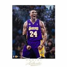 "Kobe Bryant Los Angeles Lakers Signed 16x20 ""ICONIC"" Photo LE to 124 Pan... - £572.61 GBP"