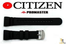 Citizen Promaster U107-T007970 26mm Caoutchouc Noir Bracelet de Montre - $67.34
