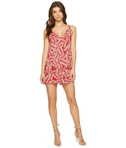 1. State Womens Tiered V Neck Romper Size 6 Multicolor Botanical Print B... - $15.83