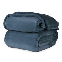 4-Pc Berkshire VELVETLOFT Velvet Medium Blue Full Sheet Set NIP Super So... - $74.99