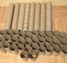 80 Toilet Paper Tubes Rolls & 16 Paper Towel Rolls Art Supplies Craft EMPTY - $19.79