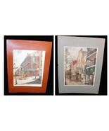 New Orleans K. Tugelharott Prints In Matt 1987 Royal Street - $17.99