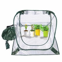 Gas-permeable Folding Balcony Flower Warm Room Plants Shield Cold-Proof ... - $28.04