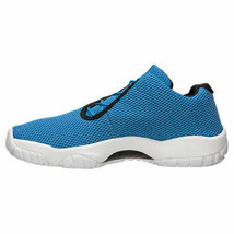 Air Jordan Mens Future Low Photo Blue Black Shoes 718948 400 Size 9 - $71.95