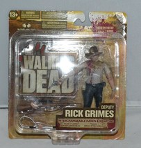 2012 The Walking Dead Series Two Deputy Rick Grimes Figure Mcfarlane - $29.69