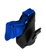New Barsony Black Leather Tuckable IWB Holster for Compact 9mm 40 45 Pis... - $32.99
