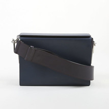 Marni Blue & Purple Leather Crossbody Box Bag - $400.00