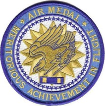 United State Air Force AIR MEDAL Medal Military Patch NEW!!! - $11.87