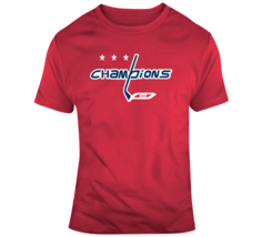Washington Hockey Team Champions Mash up Hockey Fan  T Shirt - $20.99+