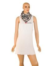 Echo Design Women's Wrap Shawl 70 x 24 Black and White and Gold Metallic... - €15,52 EUR