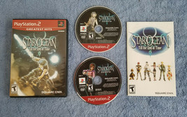 Star Ocean: Till the End of Time (PlayStation 2 PS2, 2004) Complete CIB 2 Discs - $10.00