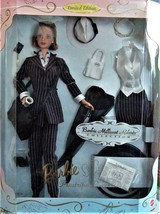 Barbie Doll - Barbie Millicent Roberts Pinstripe Power Doll Limited Edition - $45.00