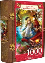 MasterPieces Book Boxes Fairytale Jigsaw Puzzle, Lost in Wonderland, Alice, Coll - $14.61