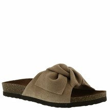 White Mountain Womens Henley Leather Open Toe Casual Slide Sandals - $53.28+