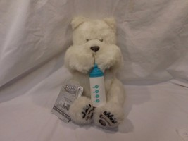 Furreal Large Luv Cub Polar Bear Interactive With Bottle Furry Adorable - $23.01