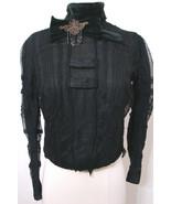 Rare Victorian Blouse NAT'L CLOAK & SUIT CO Black Net Lace US Pat Beaded... - £342.09 GBP