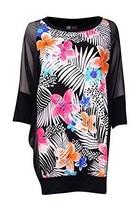 Coco Reef Women's Floral Chiffon Swimwear Cover Up Multicolor Small/Medium - $31.19