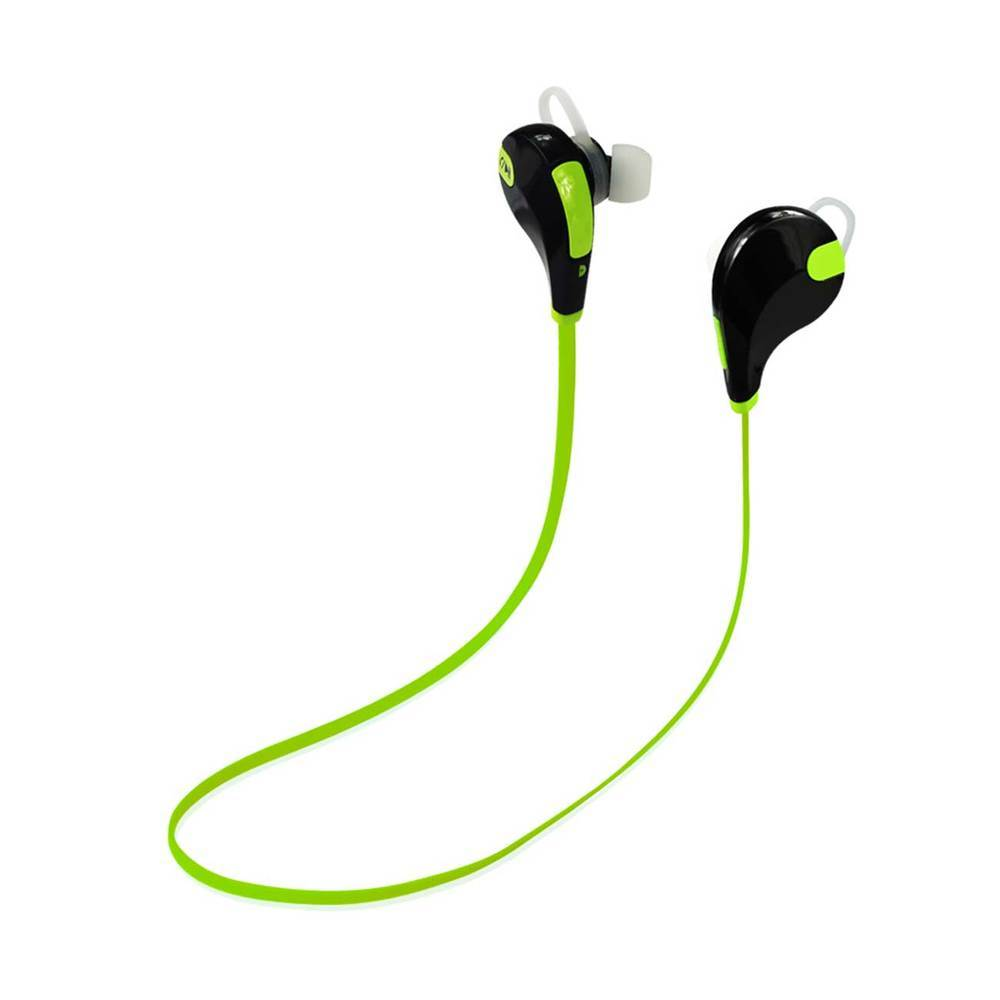 REIKO WIRELESS IN EAR HEADPHONES UNIVERSAL BLUETOOTH IN GREEN BLACK