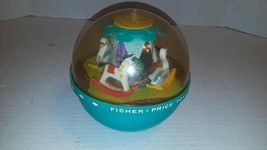 """1966 Fisher-Price Original 7""""  Roly Poly Chime Ball #165 Vintage Toy - w... - $15.85"""