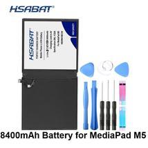 Hsabat HB299418ECW 8400mAh Battery For Huawei Media Pad M5 CMR-W19 CMR-AL09 Batte - $63.38