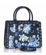 MICHAEL Michael Kors Dillon Top Zip Medium Leather Satchel Studded Handbag - $222.75