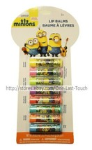 MINIONS* 8pc Balm/Gloss A MOVIE EXCLUSIVE Flavored/Scented PARTY PACK (C... - $10.99