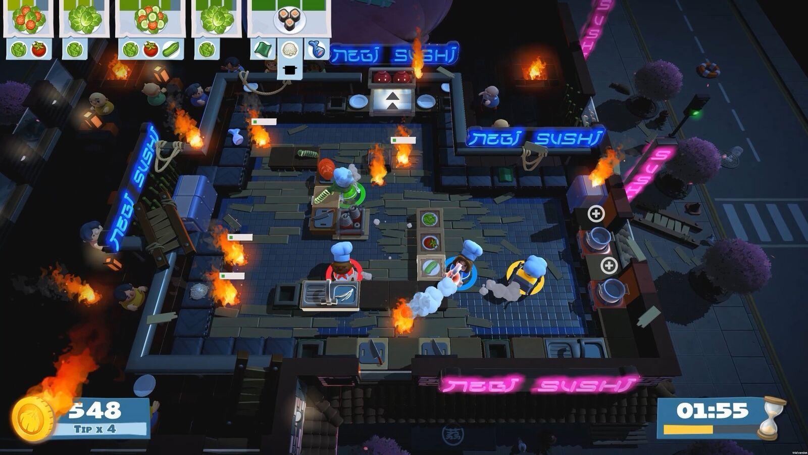 Overcooked! 2  Nintendo Switch NEW! image 3