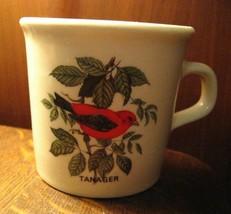Scarlet Piranga Tazza per Caffè - Vintage Rosso Songbird Taylor Internat... - $24.74