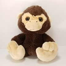 "Aurora World Brown Monkey Big Eyes Big Feet Plush Stuffed Animal 9"" Tan - $14.25"