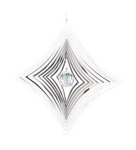 Woodstock Shimmers Crystal Parallax Suncatcher Spinner - $12.33
