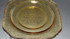 "~1930""s Federal Amber Madrid Original Pattern Replacement Bread Plate~ - $14.49"