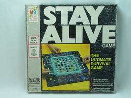Stay Alive 1971 Board Game Milton Bradley 100% Complete Excellent Plus USA - $28.59
