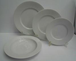 16 DANSK tapestries Winter White dinner salad bread plate rim soup bowl ... - $247.49