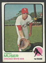 Chicago White Sox Tony Muser 1973 Topps Baseball Card 238 vg - $0.50