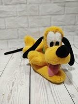 "Disney Store Authentic  Pluto Plush Dog Stuffed Animal  10"" Disneyland - $14.50"